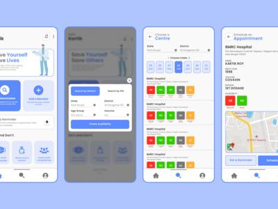 CoviDose App - An app to sc...