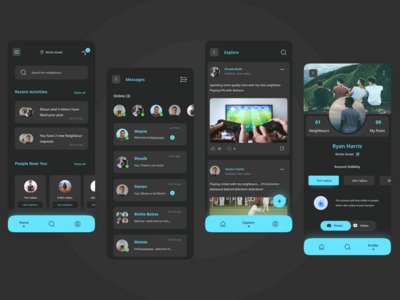 NeighChats is an app that h...
