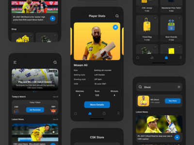 Sports app where people can...