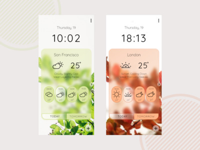A weather app with basic fa...