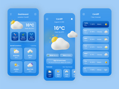 The Weather Wise app provid...