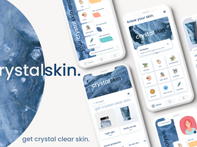 Crystalskin is designed suc...