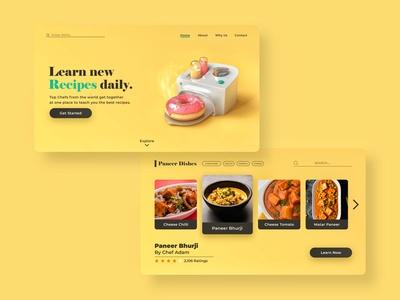 Learning new recipes made e...