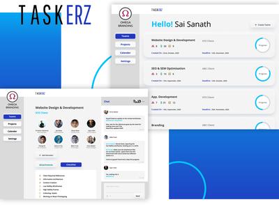 Application name is TASKERZ...