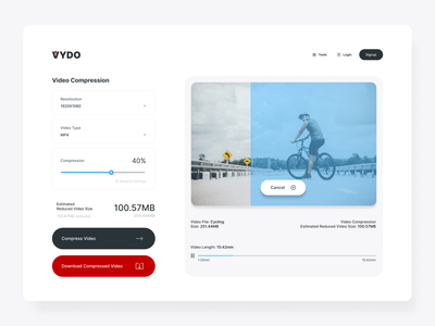 Vydo is a tool for converti...