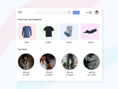 Clothing brand website, whi...