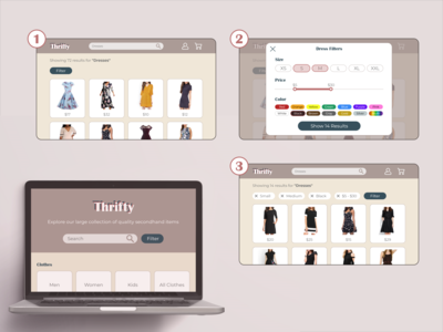Thrifty is an online second...