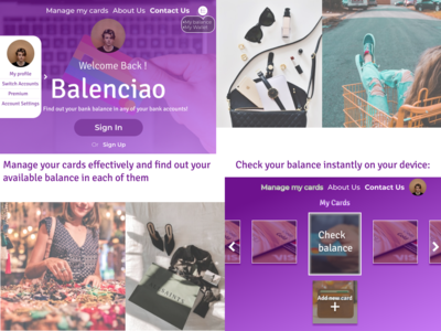 Balenciao Application. Used...