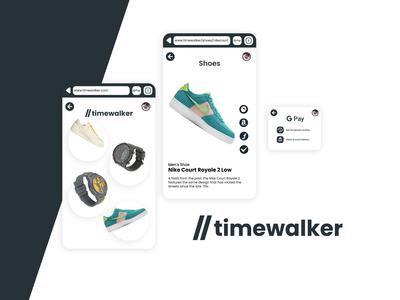 //timewalker, a site for sh...