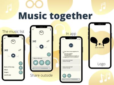 we very often share music w...