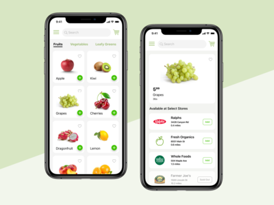 The Grocery Finder App help...