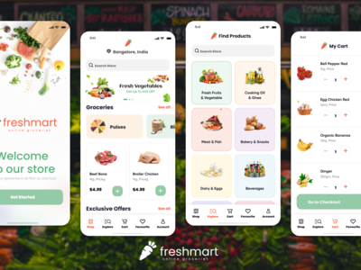Freshmart enables users to ...
