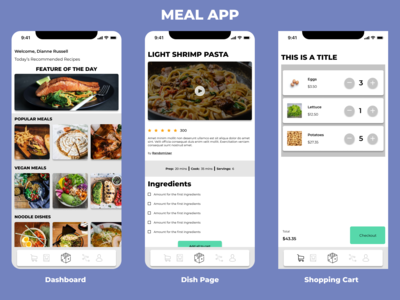 MealApp is a one-stop for a...