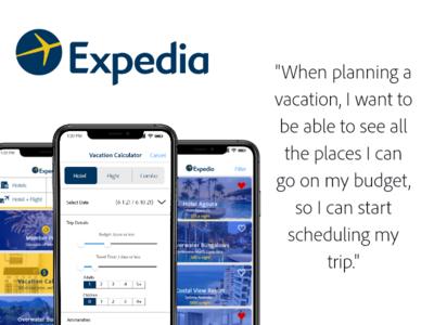 I used Expedia as my inspir...
