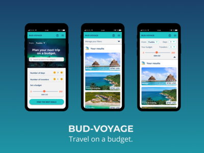 Bud-voyage is the app to fi...