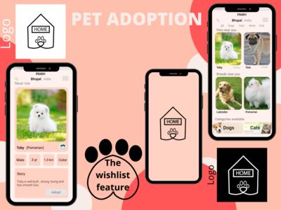 A pet adoption mobile app m...