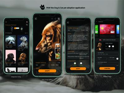 A pet app where user can se...