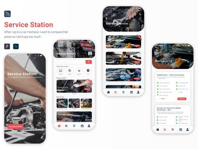 Service Station - Mobile Ap...