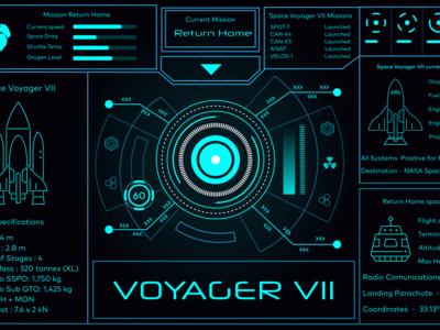 Spaceship Dashboard Challenge