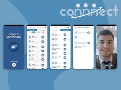 Connnect app enables the us...