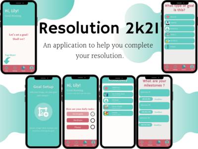 The simplistic app design m...