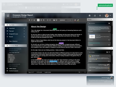 This is a Document Editor w...
