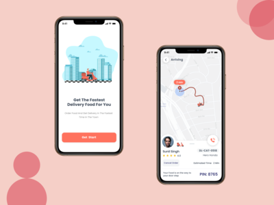 Designed a App to track the...