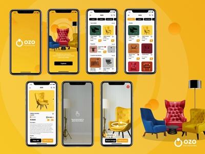 Ozo AR app - Ozo is a furni...