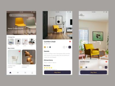 Furniture Buying App that l...