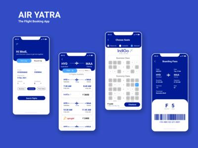 Sign-in to Air Yatra, selec...