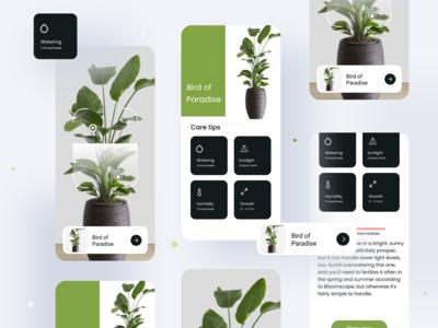 Plant App Ui that lets you ...