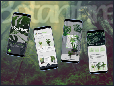 It is a Plant Scanning appl...