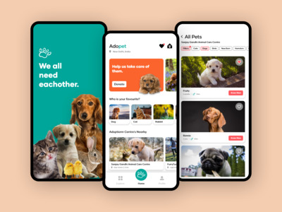 Adopet is an app that shows...