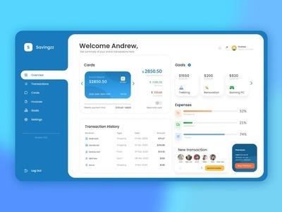 Savingzz is a web-based app...