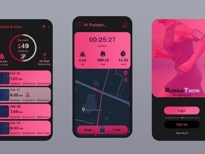 RunnaThon is a running app ...