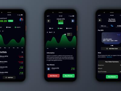 This UI design for a Crypto...