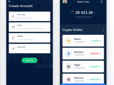 Crypto is an App through wh...