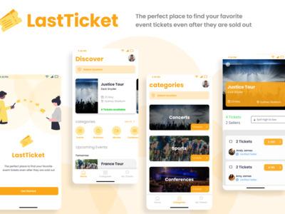 Hey,  LastTicket: A an app...