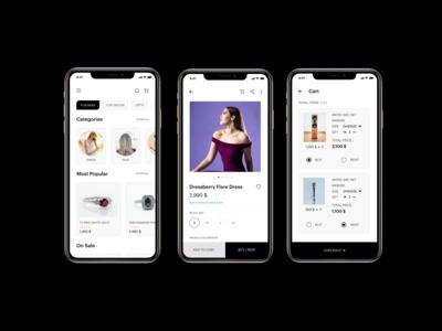 A wedding e-commerce app th...