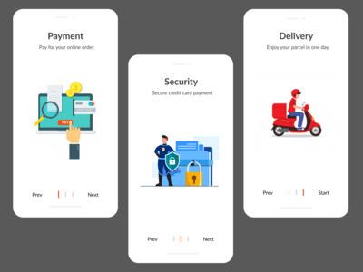 Product Onboard App Design