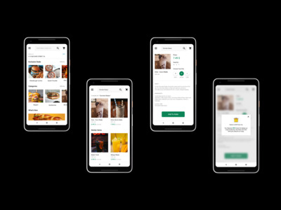 An food restaurant app